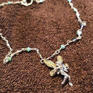 Jewelry - Beautiful fairy necklace w/ sparkling beads